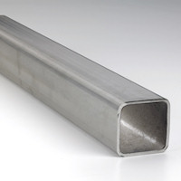"""304 Stainless Steel Square Tube 1-1//4/"""" x 1-1//4/"""" x 24/"""" long .083 Wall"""