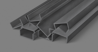 stack of stainless channels beams