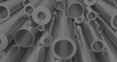 stack of assorted welded tubes